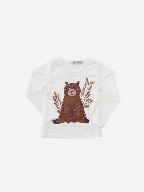 Blusa Frente de Seda Bear M/l