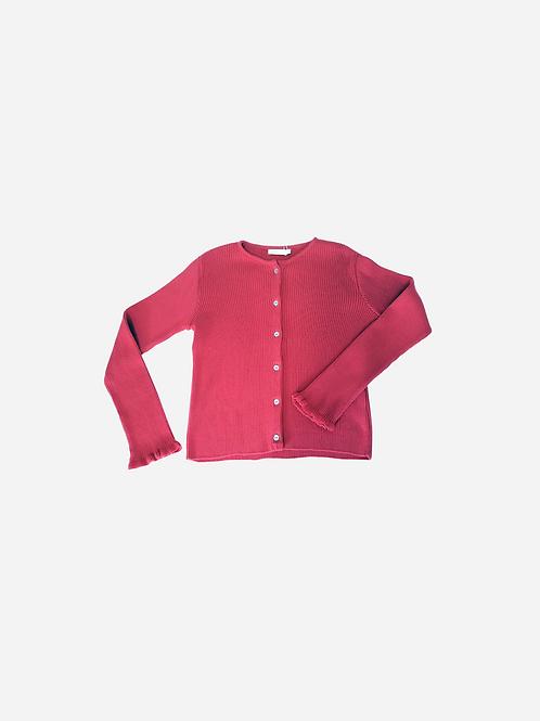 Cardigan Canelado Colors Kp Basics