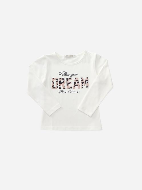 T-Shirt Visup Dream Ml Off-White