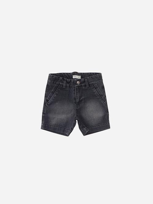 Bermuda Jeans Escuro Boy
