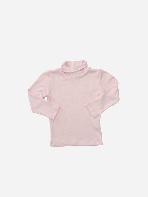 Blusa Canelada Rosê Ml