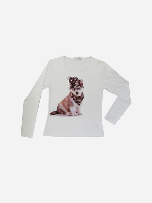 T-Shirt Siberian Husky Dog