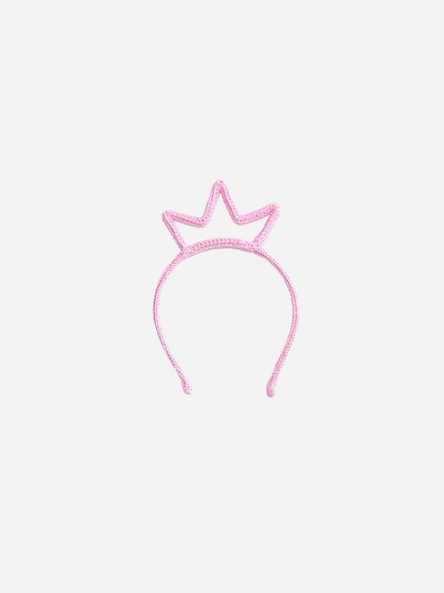 Tiara Coroa De Crochê