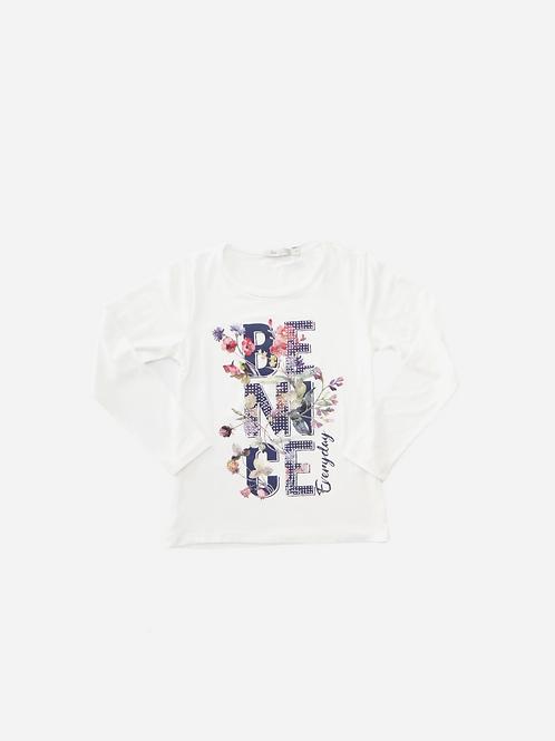 T-Shirt Malha Ml Be Nice Everyday