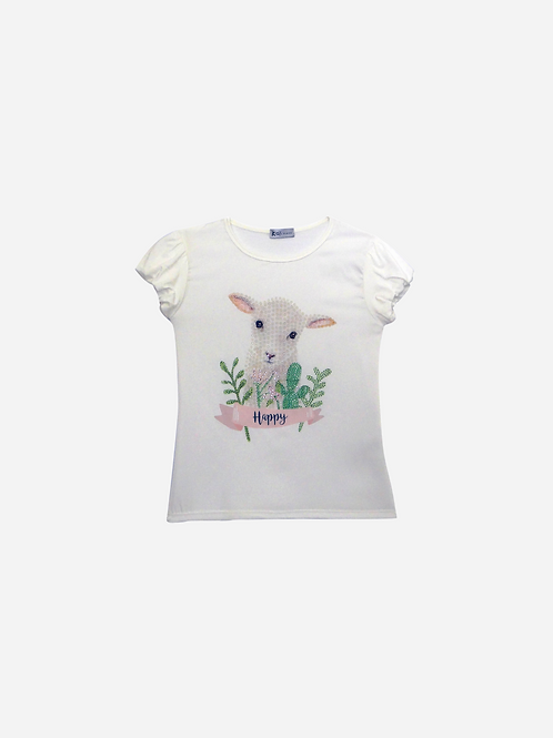 T-Shirt Seda MG Balonê Happy Sheeps