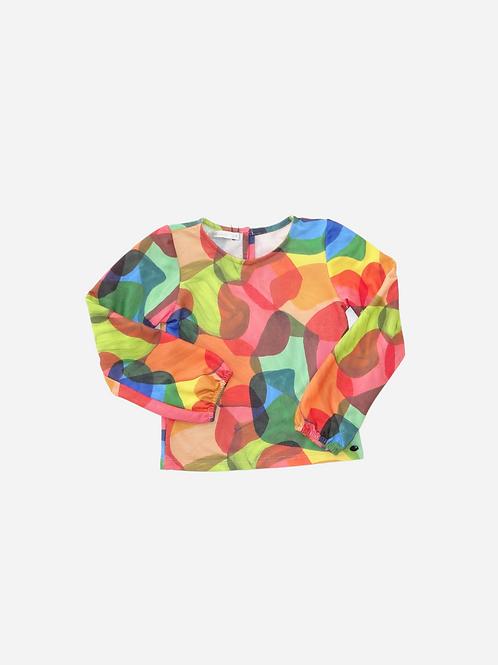 T-Shirt Flex Aquarela