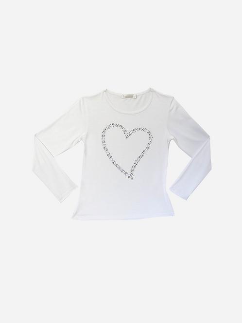 T-Shirt Blue Heart