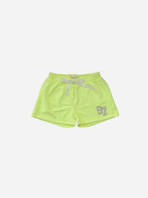 Shorts Neon Moletom