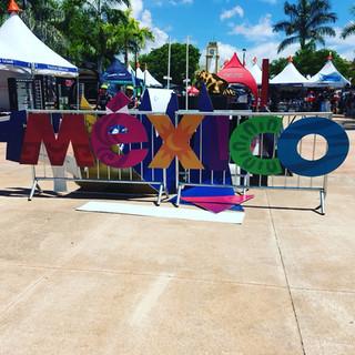 Fun times in Mexico.