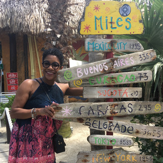 Nita's traveling journey.