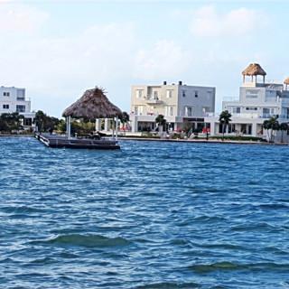 Private island in Belize.