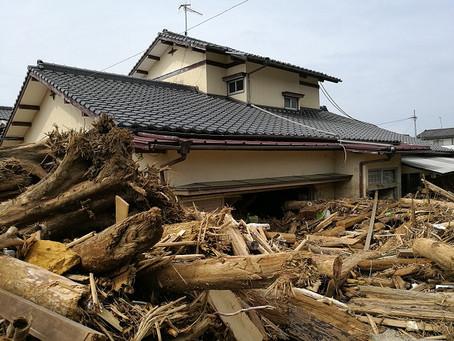 九州北部豪雨支援活動 その1