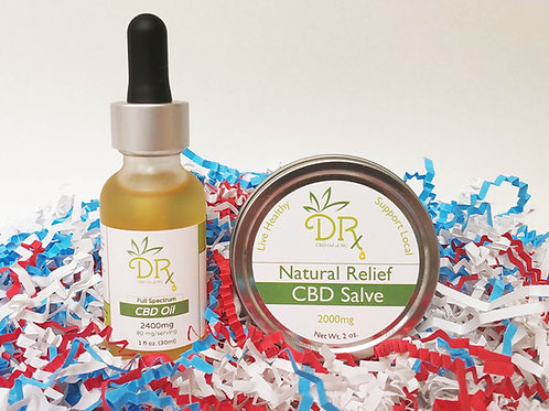 DRx CBD Oil Bundle