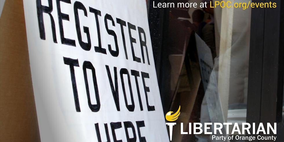Voter Registration at the Naturalization Ceremony