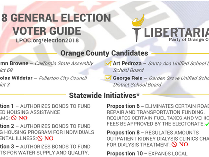 2018 General Election Voter Guide