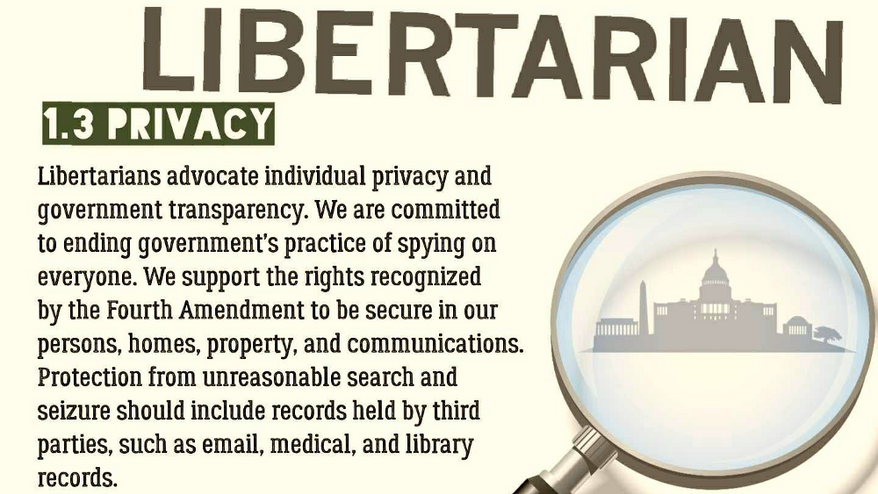LNC: Stop government spying on presidential campaigns — and the rest of Americans