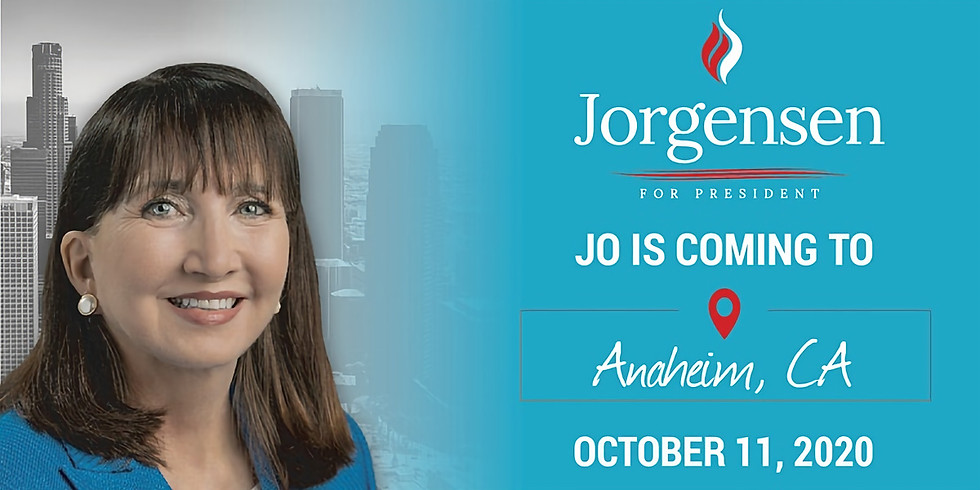 Meet & Greet with Dr. Jo Jorgensen