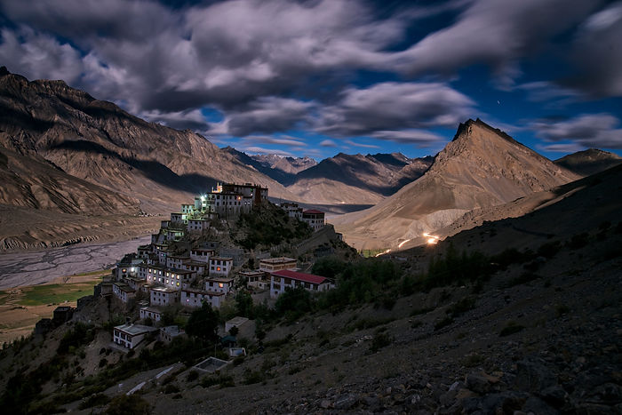 spiti, night photography, photojournalism