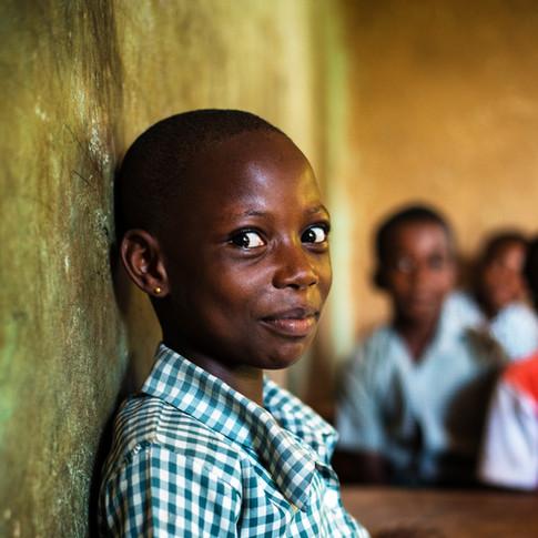 School girl, Ghana