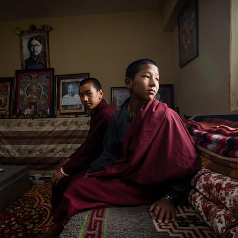 The Monk's Study