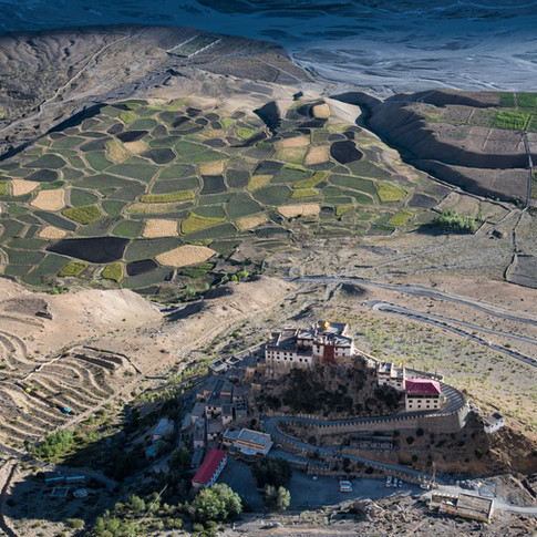 Key Monastery From Above