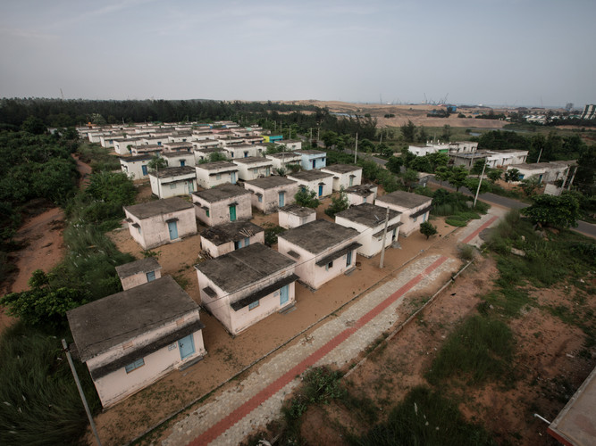 Resilient village from above