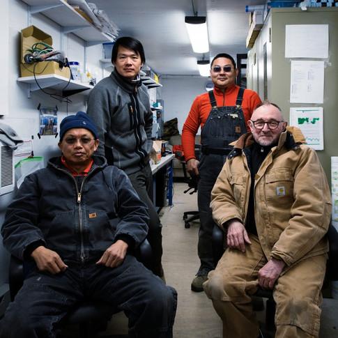 Greenland Telescope Engineer Team
