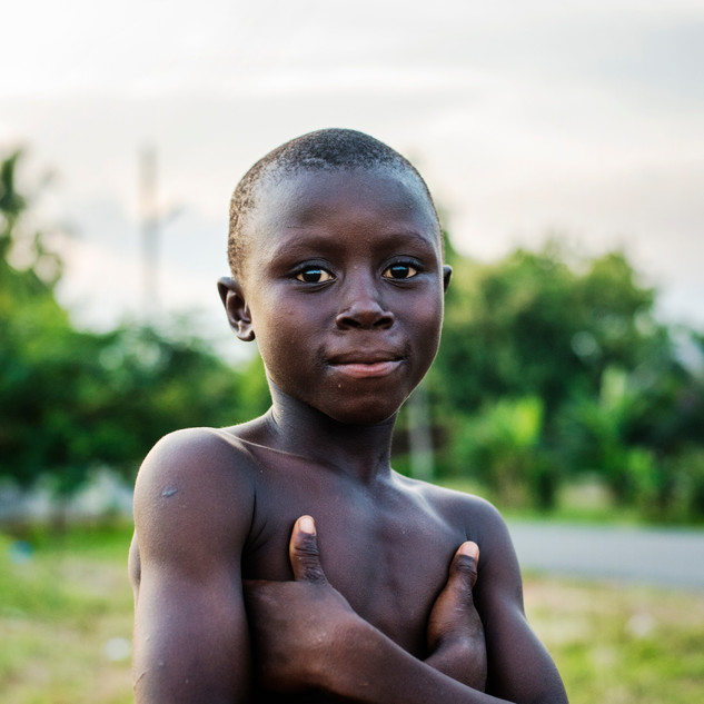 Kid in Tinkong, Ghana