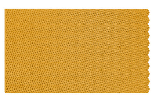 Yellow Zig Zag 3D Panels - 2.76 sqm box