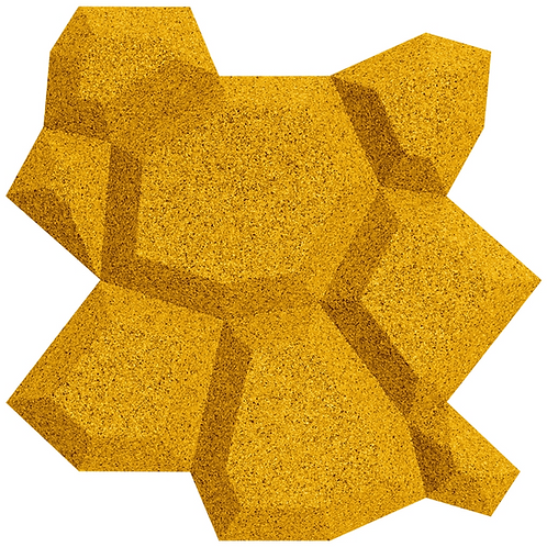Yellow Beehive 3D Tiles