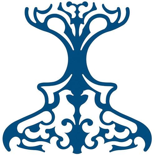 Cobalt Blue Classic Motif Pattern Tiles