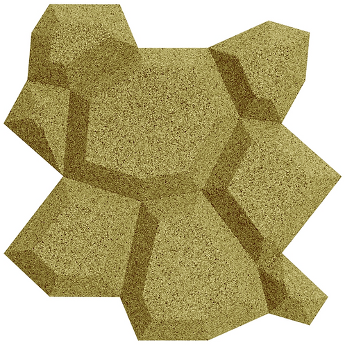 Olive Beehive 3D Tiles