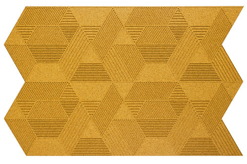 Yellow Geometric 3D Panels - 2.3 sqm box