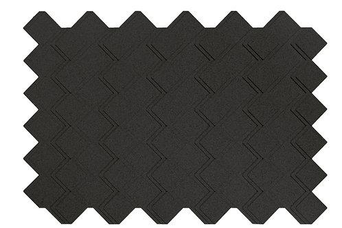 Black Step 3D Panels - 3.01 sqm box