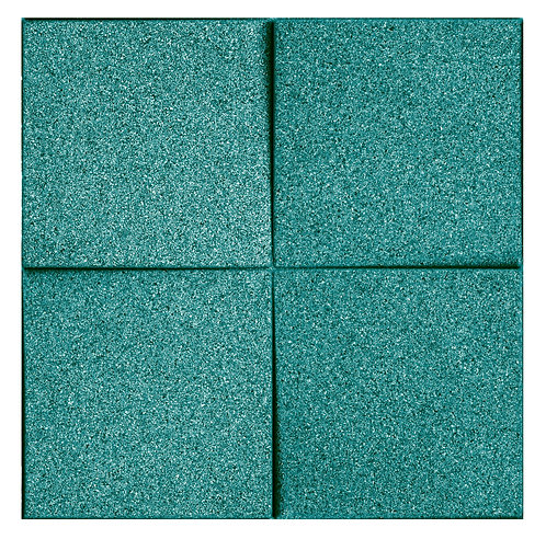 Turquoise Chock 3D Tiles - 0.99 sqm box