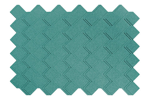 Turquoise Step 3D Panels - 3.01 sqm box