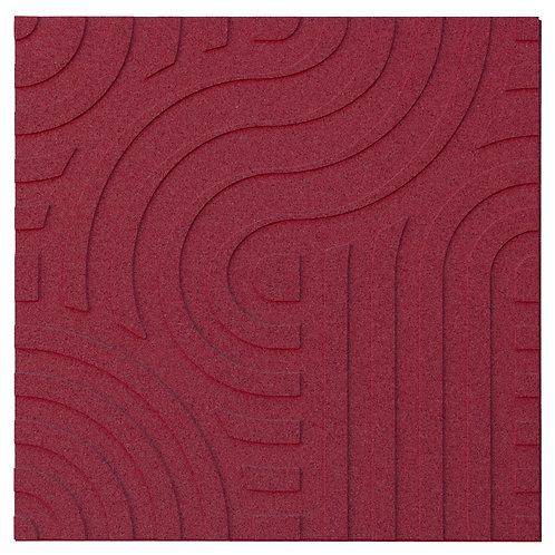 Bordeaux Wave 3D Panels - 2.53 sqm box