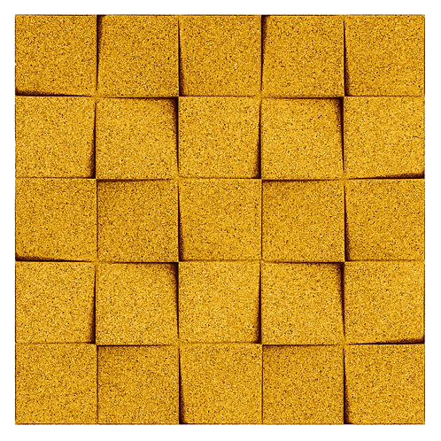 Yellow Mini-chock 3D Tiles