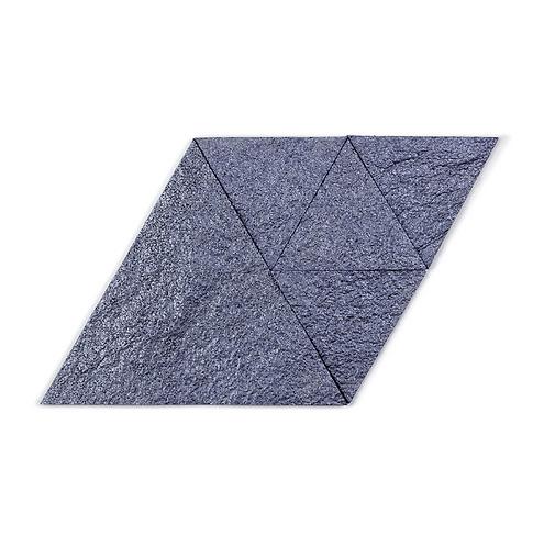 Sapphire Triangle Cork Stone Tiles