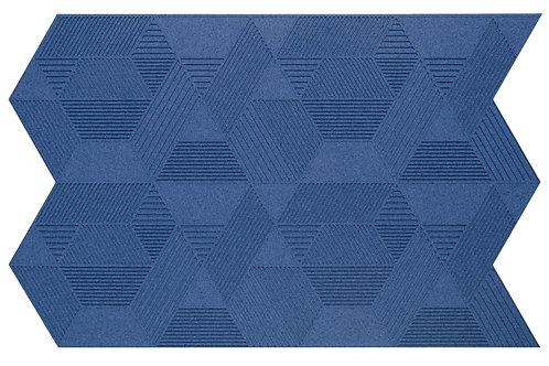 Blue Geometric 3D Panels - 2.3 sqm box