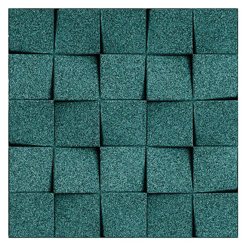 Emerald (Teal) Mini-chock 3D Tiles