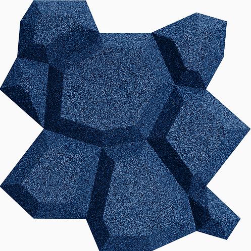 Blue Beehive 3D Tiles - per 0.71sqm box