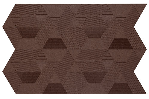Aubergine Geometric 3D Panels - 2.3 sqm box