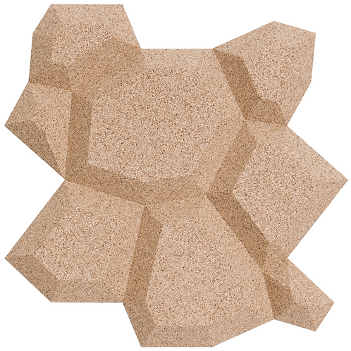 Ivory Beehive 3D Tiles