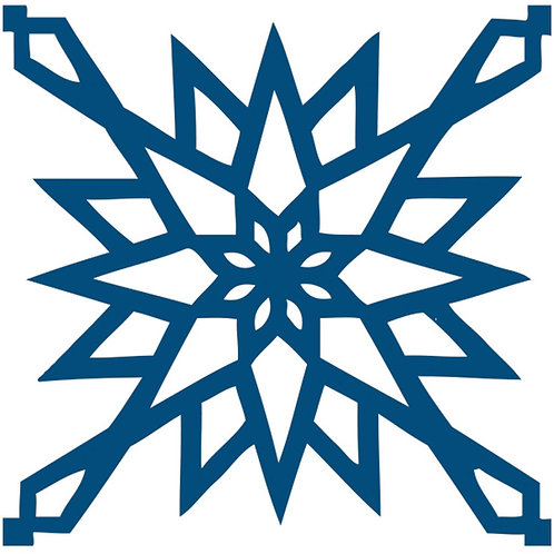 Cobalt Blue Arabic Motif Pattern Tiles