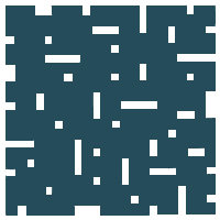 Deep Indigo No Touch Motif Pattern Tiles