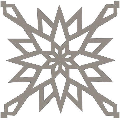 Cool Beige Arabic Motif Pattern Tiles