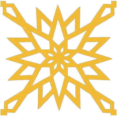 Honey Arabic Motif Pattern Tiles