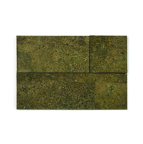 Green Cork Bricks