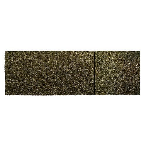 Black Gold Shimmer Cork Stone Tiles